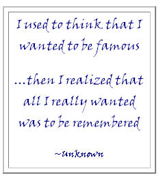Quote on Memories