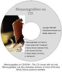 Memorygrabber CD-ROM Face