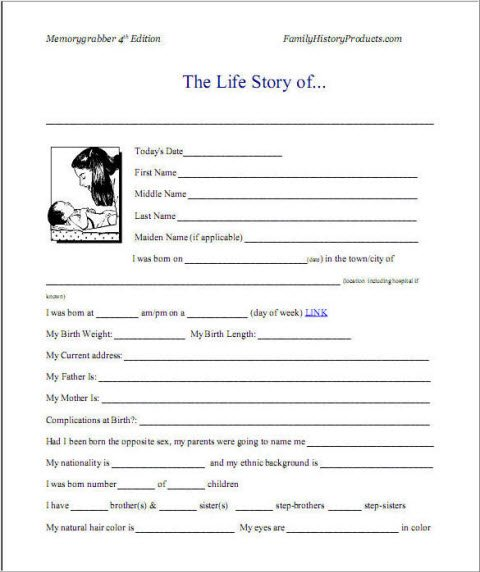 Sample Autobiography and Example of Autobiography Activities to Do – Sample Biography Timeline