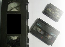 Transfer VHS to DVD and digital